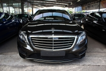 2013 MERCEDES-BENZ S-CLASS S500 CGI L AMG SPORTS PACKAGE