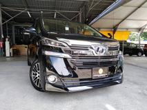 2016 TOYOTA VELLFIRE 2.5X (2 power doors) Super Sales Absorb SST