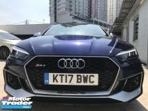 2017 AUDI RS5 3.0 TURBO UNREG  BLUE UK