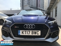 2017 AUDI RS5 3.0 TURBO UNREG  BLUE UK