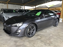 2014 TOYOTA 86 GT86 2.0 NA Boxer D-4S 200hp 6 Speed LSD VSC Sport Mode Smart Entry Push Start Button HVAC Bucket Seat Intensity Discharged LED Zone Climate Control Twin Exhaust Reverse Camera Unreg