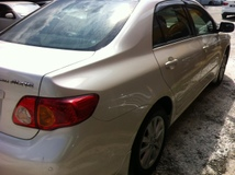 2011 TOYOTA ALTIS 1.8 Auto Leather Seat,Pearl White,4 Disc.Barke,Tip Top Condition,Accident Free…..