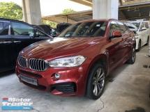 2015 BMW X6 Unreg BMW X6 3.0 Turbo Diesel 40D M Sport Keyless Camera 8Speed Paddle Shift