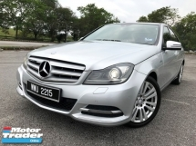 2013 MERCEDES-BENZ C-CLASS 2013 MERCEDES BENZ 1.8 (A) CGi BLUEEFCY FACELIFT