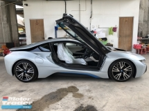 2015 BMW I8 1.5 e-Drive L3 Turbocharged + Hybrid Synchronous Motor 4 Surround Camera Head Up Display Adaptive Intelligent LED Multi Function Paddle Shift Steering Drive Selection Pre Collision Safety Unreg