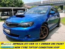2010 SUBARU IMPREZA WRX STI LOCAL SPEC ORIGOINAL PART AND PAINT WEEKEND USED ONLY ACCIDENT FREE