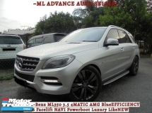 2012 MERCEDES-BENZ ML  ML350 3.5 4MATIC AMG BlueEFFICIENCY W166 Facelift NAVI Powerboot Luxury LikeNEW