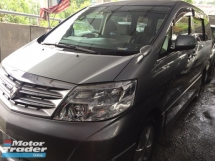 2007 TOYOTA ALPHARD 2.4 AS FACELIFT 7 Seater, 2 Power Drs, REG 2012
