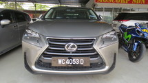 2015 LEXUS NX 200 TURBO LUXURY