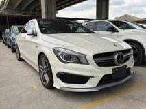 2014 MERCEDES-BENZ CLA 45/AMG/4MATICS /JAPAN /UNREG