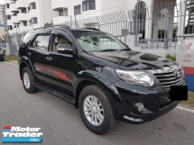 2013 TOYOTA FORTUNER 2.7V TRD SPORTIVO NO OFF ROAD LUCKY DRAW PROMOTION