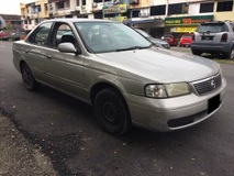 2004 NISSAN SUNNY EX SALOON (A) VERY TIPTOP