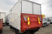 2011 Isuzu NPR66UPH Fibre Box Van Bonded Body c/w tail Lift/Tail Gate 16ft 5000kg