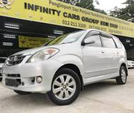 2009 TOYOTA AVANZA 1.5G 1 LADIES DRIVER FULL LOAN CAR KING CHEAPEST IN TOWN
