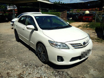 2013 TOYOTA COROLLA ALTIS 1.6 E FULL Spec(AUTO)2013 Only 1 UNCLE Own, 53K Milege, TIPTOP,ACCIDENT-Free, DIRECT-Own, LEATHER Seat, DVD,GPS& REVERSE Cam
