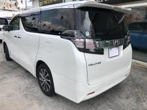 2015 TOYOTA VELLFIRE 2015 Toyota Vellfire 2.5 V MPV 7 SEATER FRONT ELECTRONIC SEAT LIMITED MODEL PLS CALL CHONG0193839680