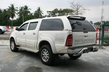 Toyota Hilux Vigo 9 bar rear bumper bar