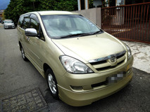 2008 TOYOTA INNOVA 2.0 G FULL Spec(AUTO)2008 Only 1 UNCLE Owner, 94K Mileage, TIPTOP, ACCIDENT-Free, DIRECT-Owner, NEGOTIABLE with FULL AIRBEGs