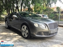 2011 BENTLEY CONTINENTAL GT 6.0 W12 Mulliner  11K Miles Only