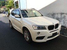 2013 BMW X3 Unreg NO PROCESSING FEE 2013 bmw X3 Xdrive20i SUV M sport