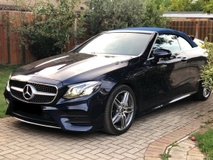 2017 MERCEDES-BENZ E-CLASS E300 AMG Cabriolet Full Option Spec (New Car Condition) Price NEGOTIABLE. Provide WARRANTY. BMW AUDI
