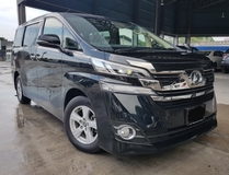 2016 TOYOTA VELLFIRE 2016 Toyota Vellfire 2.5 X Package 8 Seater 2 Power Door Unregister for sale