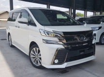 2017 TOYOTA VELLFIRE 2017 Toyota Vellfire 2.5 ZA Golden Eye 2 Power Door Power Boot 7 Seater Unregister for sale