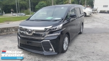 2015 TOYOTA VELLFIRE 2.5 ZA P/boot 4 Camera UNREG 1 YEAR WARRANTY