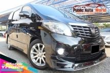 2009 TOYOTA ALPHARD Toyota ALPHARD 2.4 PRIME P/BOOT S/ROOF FACELIFT 09