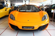2013 MCLAREN MP4-12C SPIDER -UNREG-
