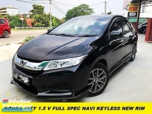 2017 HONDA CITY 1.5E NAVI KEYLESS 1 OWNER ORI PAINT TIPTIP CONDITION