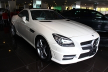 2014 MERCEDES-BENZ SLK 200 AMG SPORT RADAR SAFETY EDITION -UNREG-