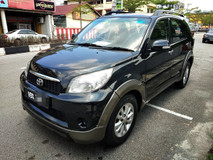2011 TOYOTA RUSH 1.5 G FULL Spec(AUTO)2011 Only 1 UNCLE Owner, 78K Mileage, TIPTOP, ACCIDENT-Free, DIRECT-Owner, NEGOTIABLE with New Number VBX