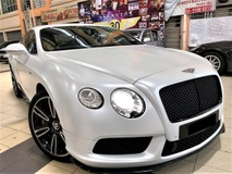 2014 BENTLEY CONTINENTAL GT V8S 4.0 (A) LUXURY FULL SPEC GOOD CONDITION