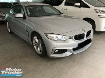 2014 BMW 4 SERIES Unreg recon 428i M Sport 2.0 Turbo coupe 2 door