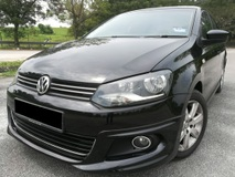 2013 VOLKSWAGEN POLO 1.6 (A) SEDAN FULL BODYKIT 100% WELL MAINTAINED CONDITION