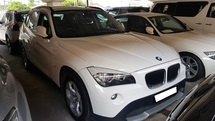 2011 BMW X1 SDRIVE18I (A) REG 2011, CKD, ONE CAREFUL OWNER, 2 ELECTRIC SEAT, LEATHER SEAT, SELDOM USE, LOW MILEAGE DONE 94K KM, FULL SERVICE RECORD, 17