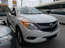 2015 MAZDA BT-50 2.2 Auto TRUE YEAR MADE 2015 NO SST Pick Up Truck Full Service with Mazda
