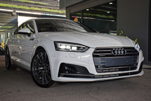 2017 AUDI A5 2.0 TFSI QUATTRO HUD SLINE POWERBOOT GOOGLE MAPPING PRICE DOWN