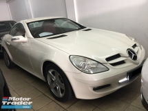 2006 MERCEDES-BENZ SLK SLK200 KOMPRESSOR Registered 2009