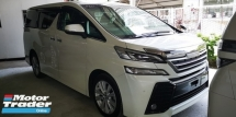 2015 TOYOTA VELLFIRE ZA 2.5CC / 7 SEATER/ pre-crash / TIPTOP CONDITION/READY STOCK / OFFER