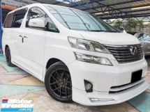 2011 TOYOTA VELLFIRE 3.5 ROYAL LOUNGE VVIP SUNROOF FULLSPEC YR MAKE 2011