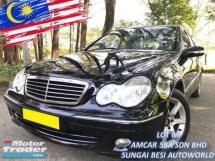 2006 MERCEDES-BENZ C-CLASS C200 KOMPRESSOR ELEGANCE NEW FACE LIFT LOCAL
