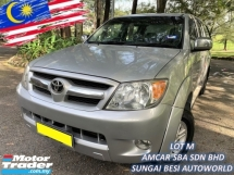 2009 TOYOTA HILUX DOUBLE CAB 2.5G (AT) TURBODIESEL CANOPY 1 OWNER