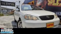 2007 TOYOTA ALTIS 1.8 ( A ) G SPECS !! VVT-I NEW FACELIFT !! PREMIUM HIGH SPECS COMES WITH ELECTRONIC SEATS & ETC !! ( BXX 3382 ) 1 CAREFUL OWNER !!
