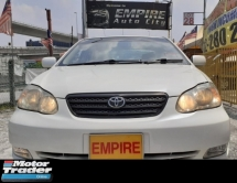 2006 TOYOTA ALTIS 1.8 ( A ) G SPECS !! VVT-I NEW FACELIFT !! PREMIUM HIGH SPECS COMES WITH ELECTRONIC SEATS & ETC !! ( BXX 3382 ) 1 CAREFUL OWNER !!