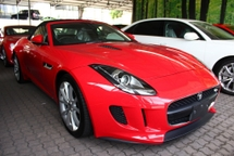 2013 JAGUAR F-TYPE 3.0 V6 (SOFT TOP) -UNREG-