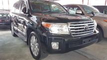 2013 TOYOTA LAND CRUISER ZX 60TH BLACK LEATHER SELECTION (UNREG)