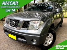 2009 NISSAN NAVARA 2.5L 4X4 SE (M) 6-SPEED HIGH 174PS SALE