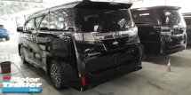 2016 TOYOTA VELLFIRE ZG 2.5CC/PILOT SEATS/7 SEATER/READY STOCK / 6A CONDITION / 4 YEARS WARRANTY